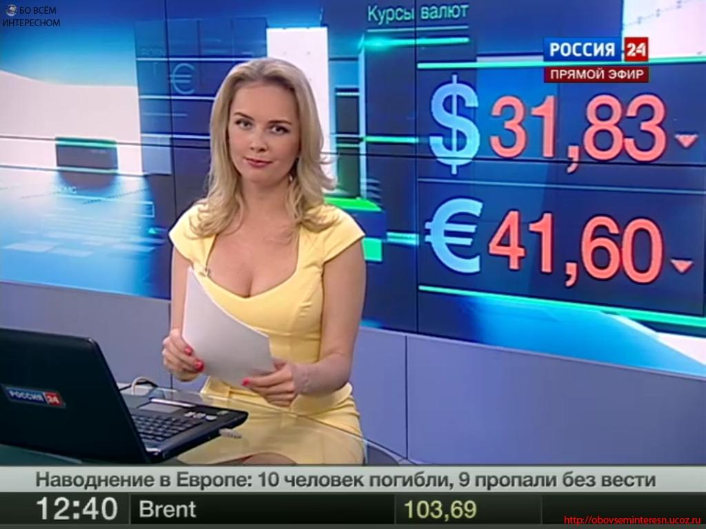 Голая российская телеведущая фото